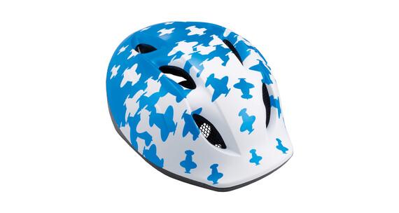 MET Super Buddy hjelm Børn blå/hvid